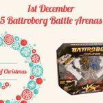 WIN one of five Battroborg Battle Arenas