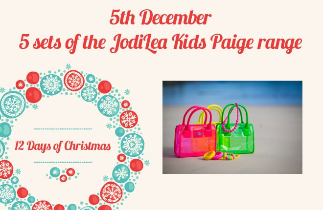 WIN one of five sets of the Paige range from JodiLea Kids