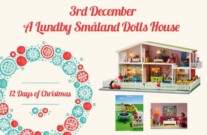 WIN a Lundby Småland Dolls House with garden and accessories