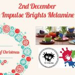 WIN one of four On Impulse Brights 24 piece Melamine Sets