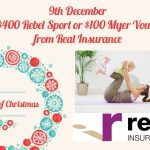 WIN a $400 Rebel Sport or $100 Myer Voucher thanks to Real Insurance