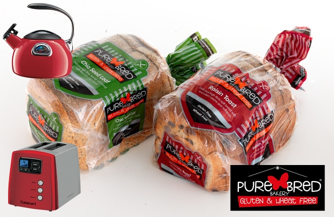 WIN one of two PureBred breakfast packs