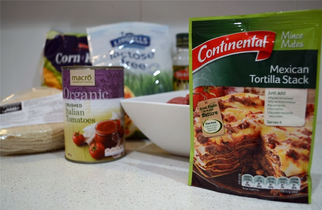 Cooking with Continental – Mexican Tortilla Stack