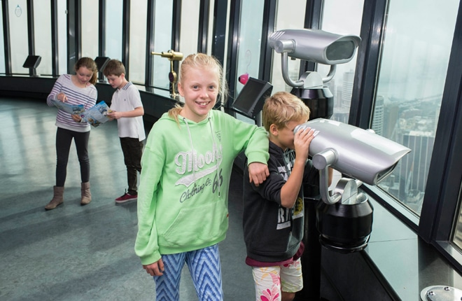 WIN one of two family day passes to Sydney Tower Eye