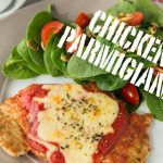 Recipe: Chicken parmigiana with side salad