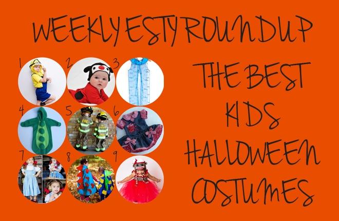 Weekly Etsy roundup: Kids Halloween costumes
