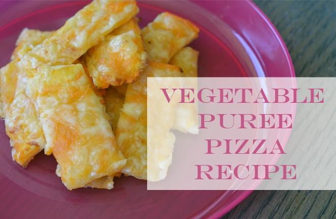 Recipe: Vegetable puree pizza