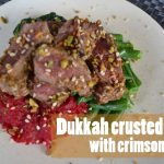 Recipe: Dukkah crusted lamb with crimson mash