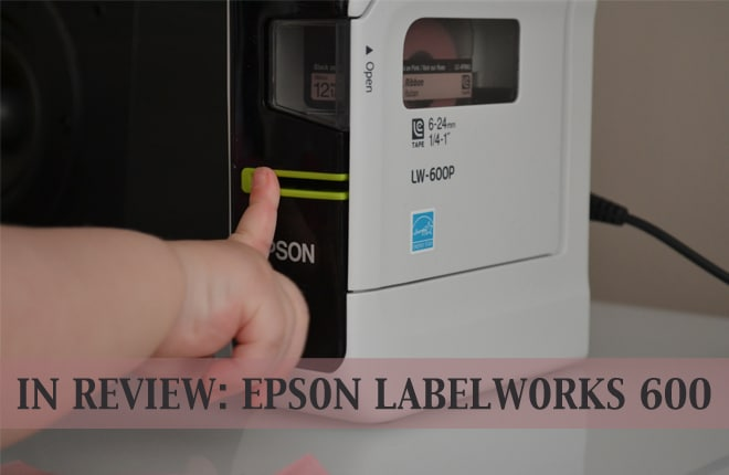 In review: Epson LabelWorks 600 (plus giveaway!)