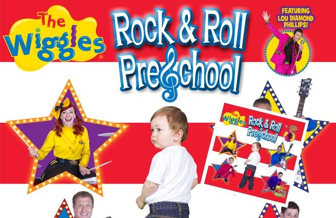 WIN one of six copies of The Wiggles Rock & Roll Preschool