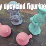 Easy upcycled figurines