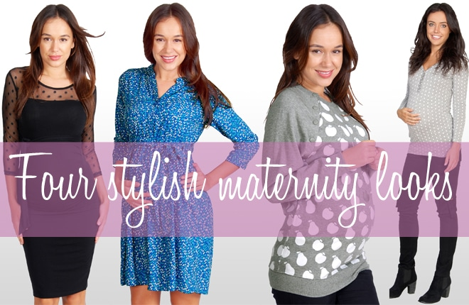 Four stylish maternity looks for Autumn/Winter