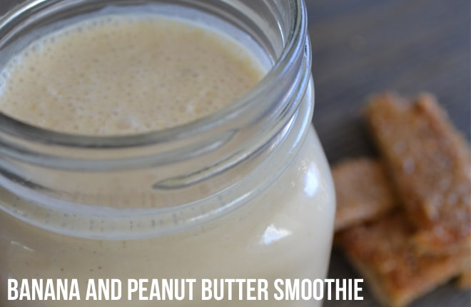 Recipe | Banana and peanut butter smoothie