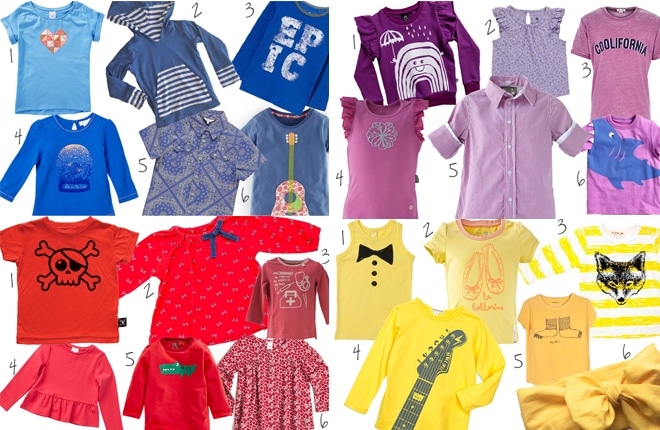 The Wiggles inspired fashion finds