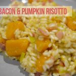 Leek, bacon and pumpkin risotto recipe