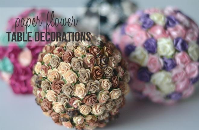 Paper flower table decorations kid magazine blog craft parties home blog paper flower table decorations mightylinksfo