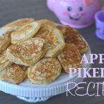 Apple pikelet recipe