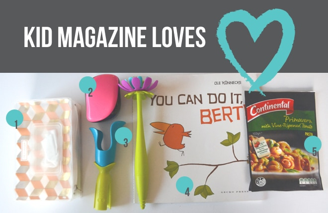 Kid Magazine Loves: WIPOUCH, Tangle Teezer, Boon and Continental