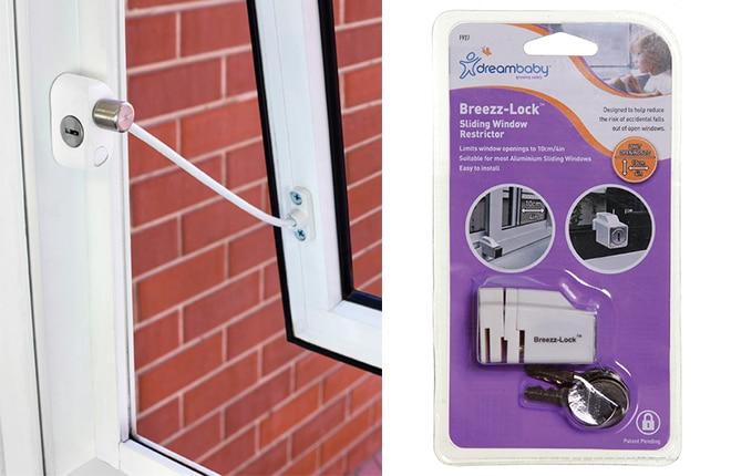 WIN one of five Dreambaby Window Restrictors packs