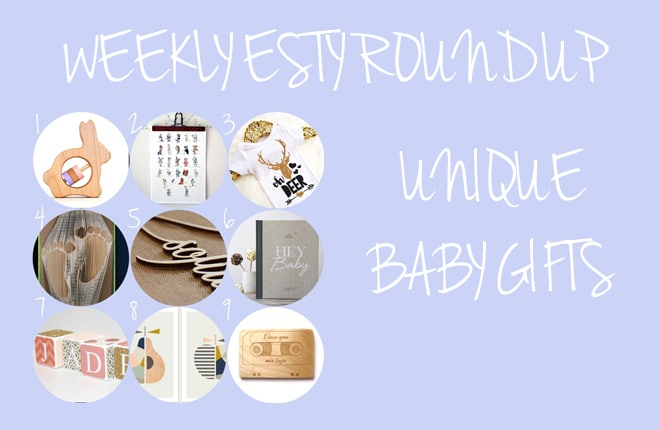9 unique baby gifts