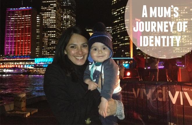A mum's journey of identity