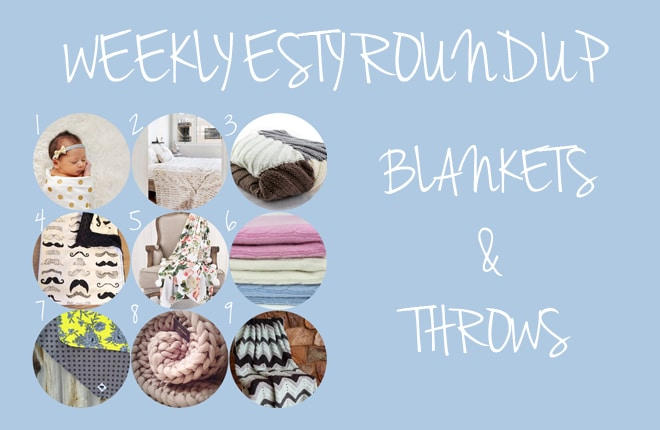 9 gorgeous blankets perfect for snuggling