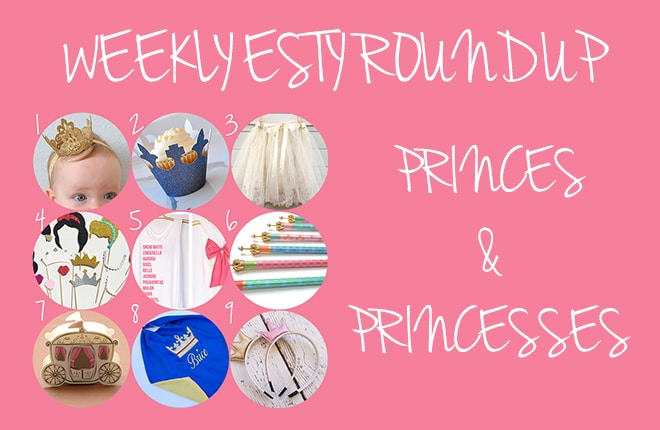Disney on Ice inspired Prince and Princess dress ups