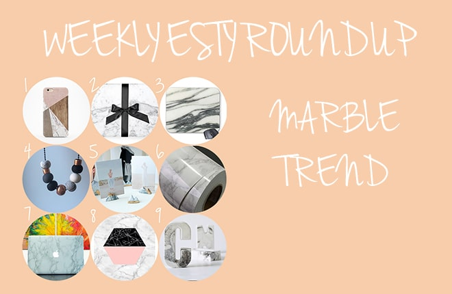 9 fun marble trend pieces