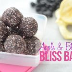Apple & blueberry bliss balls