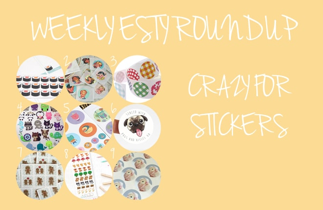 Crazy about stickers