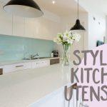 Stylish kitchen utensils