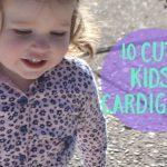 10 cute kids cardigans