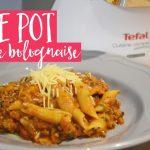 One pot penne bolognaise – Tefal Cuisine Companion