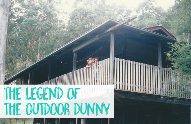 The legend of the outdoor dunny