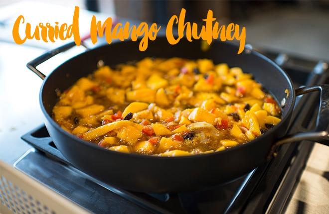 Curried Mango Chutney recipe