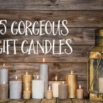 Five gorgeous gift candles