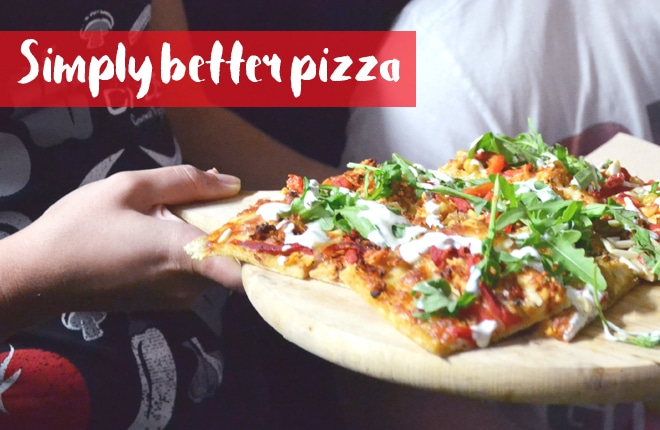 Simply better pizza