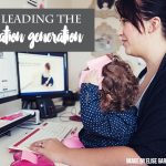 Mums leading the information generation