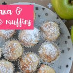 Sultana & apple muffins