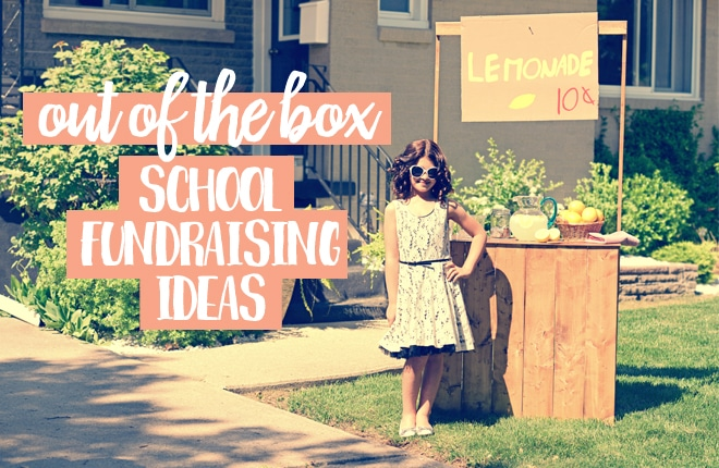 Out of the box school fundraising ideas