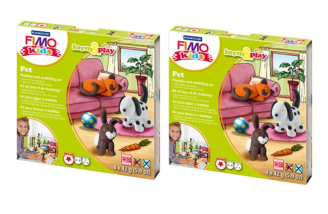 WIN one of seven STAEDTLER FIMO kids form&play sets