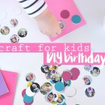 DIY birthday card craft for kids