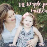 The simple joys of motherhood