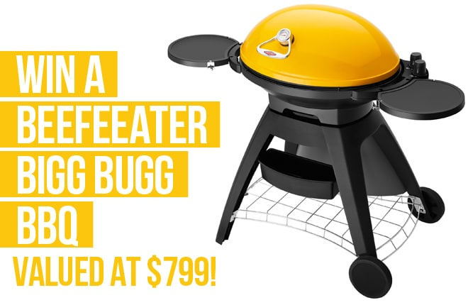 WIN a BeefEater BIGG BUGG BBQ