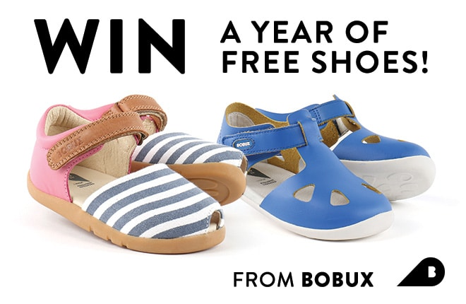 WIN a year of free shoes!