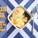 Easy peasy baked eggs recipe