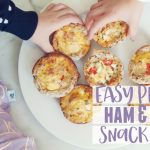 Easy peasy ham and egg snack pies recipe