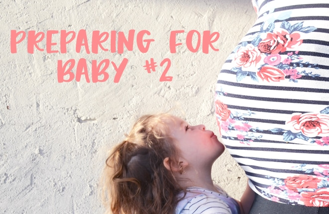 Can you ever be prepared for the arrival of your second baby?