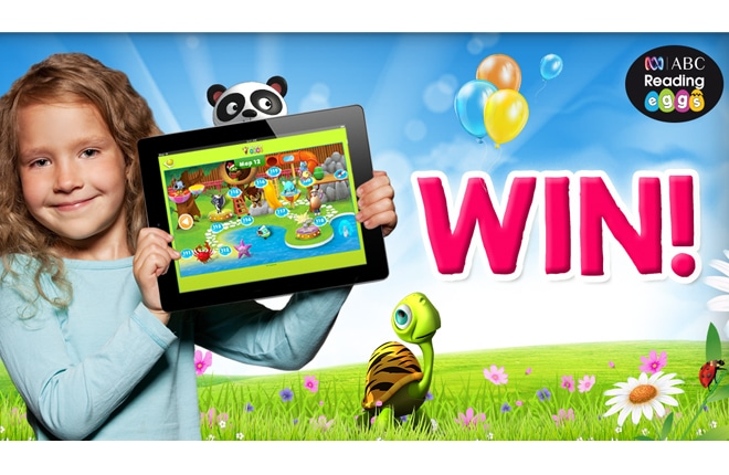 WIN an ABC Reading Eggs prize pack