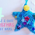 Four simple and cute Christmas craft ideas